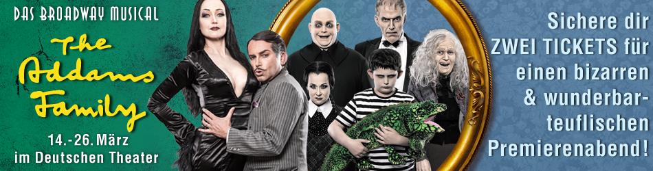 Verlosung Addams Family